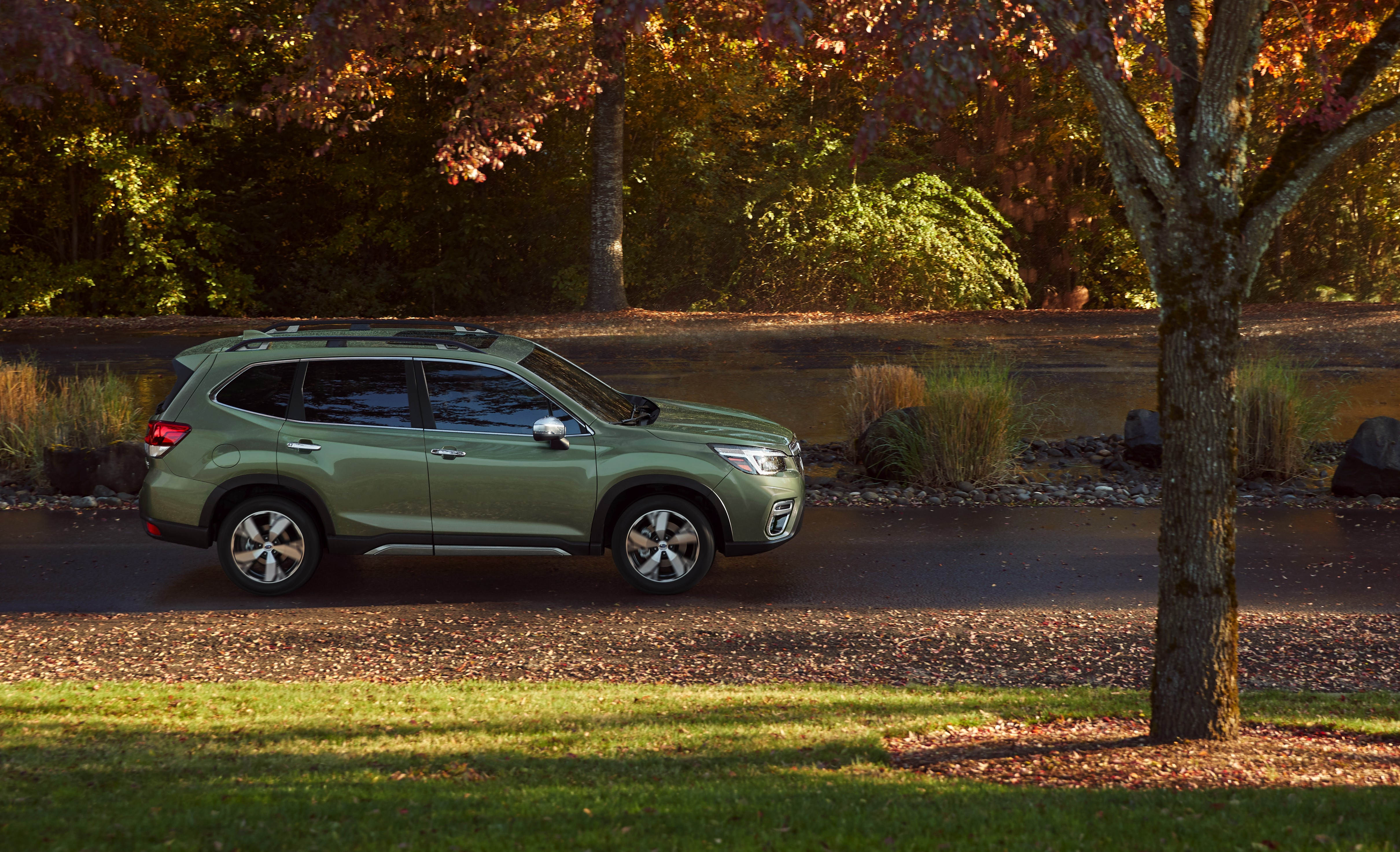The Subaru Forester Has Its World Premiere In New York Of 19 Inch Wheels On Wrx Full Size 3 Mb 4840px X 2948px