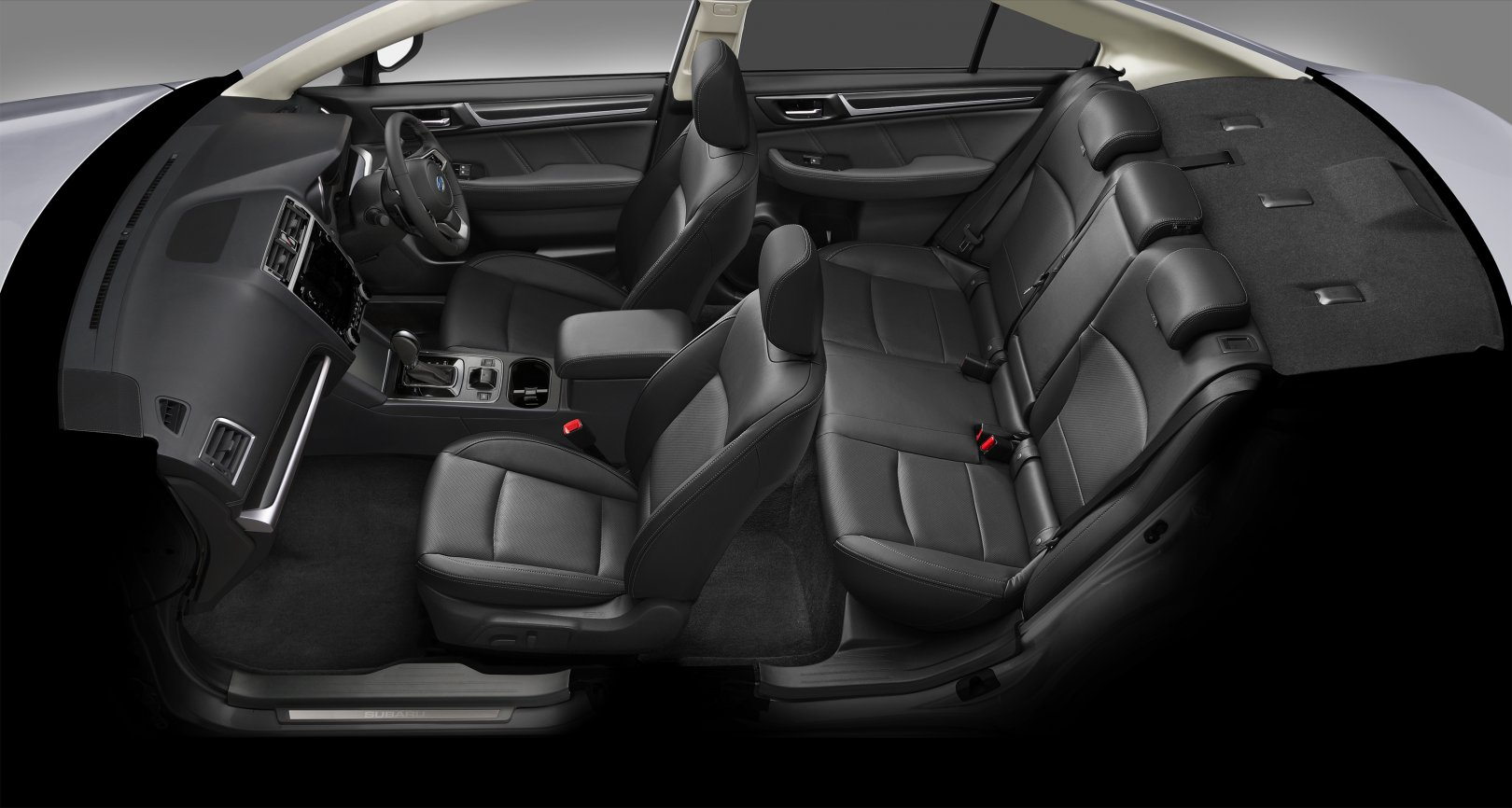 2018 Legacy interior side view