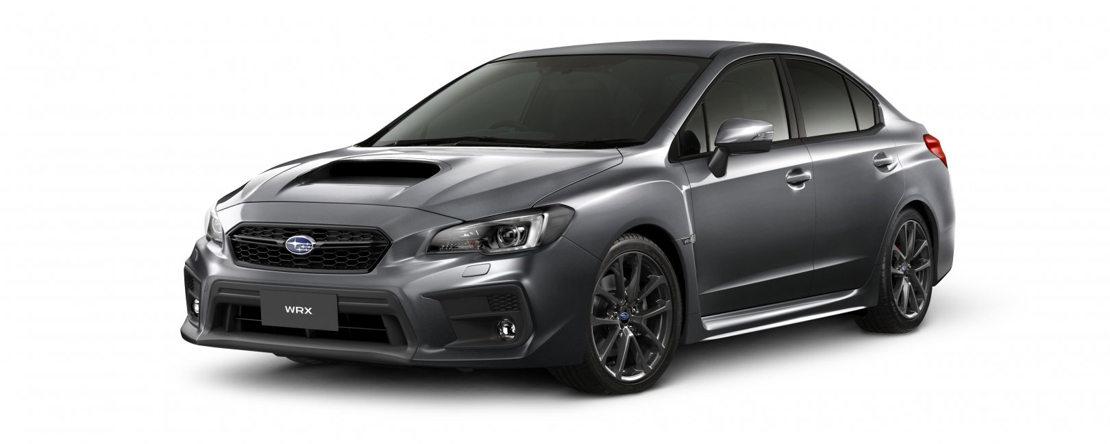 2020 WRX in dark grey
