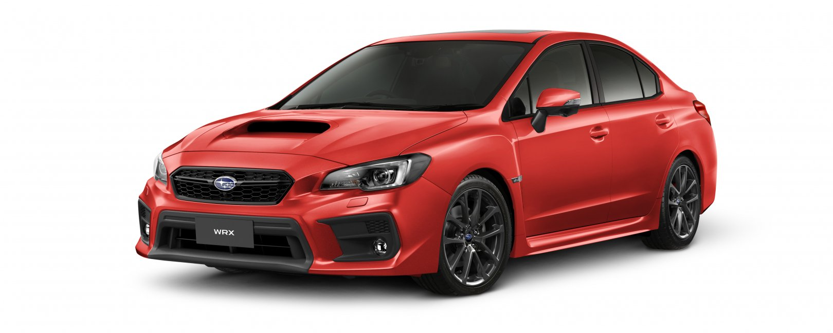 2020 WRX premium in pure red