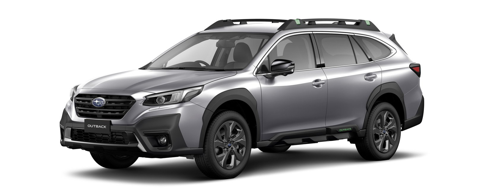 2021 Outback X - ice silver