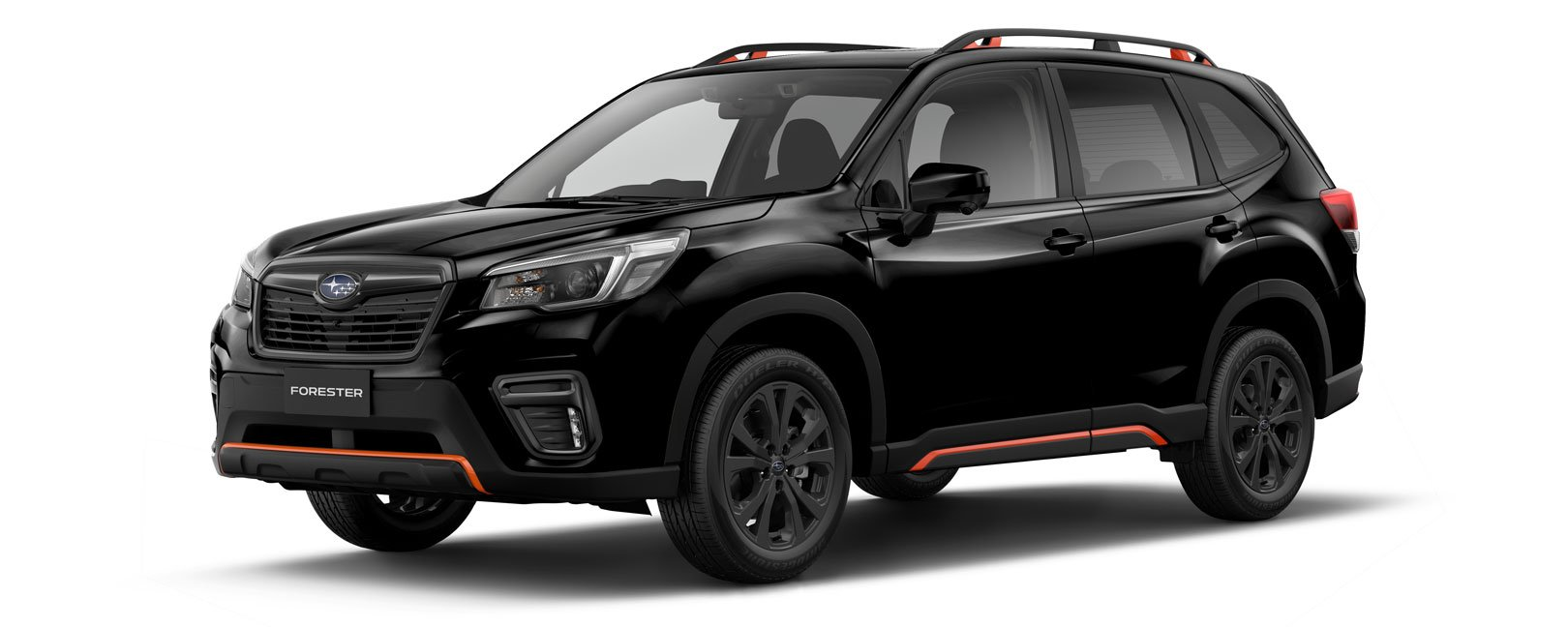 Forester X Sport in crystal back