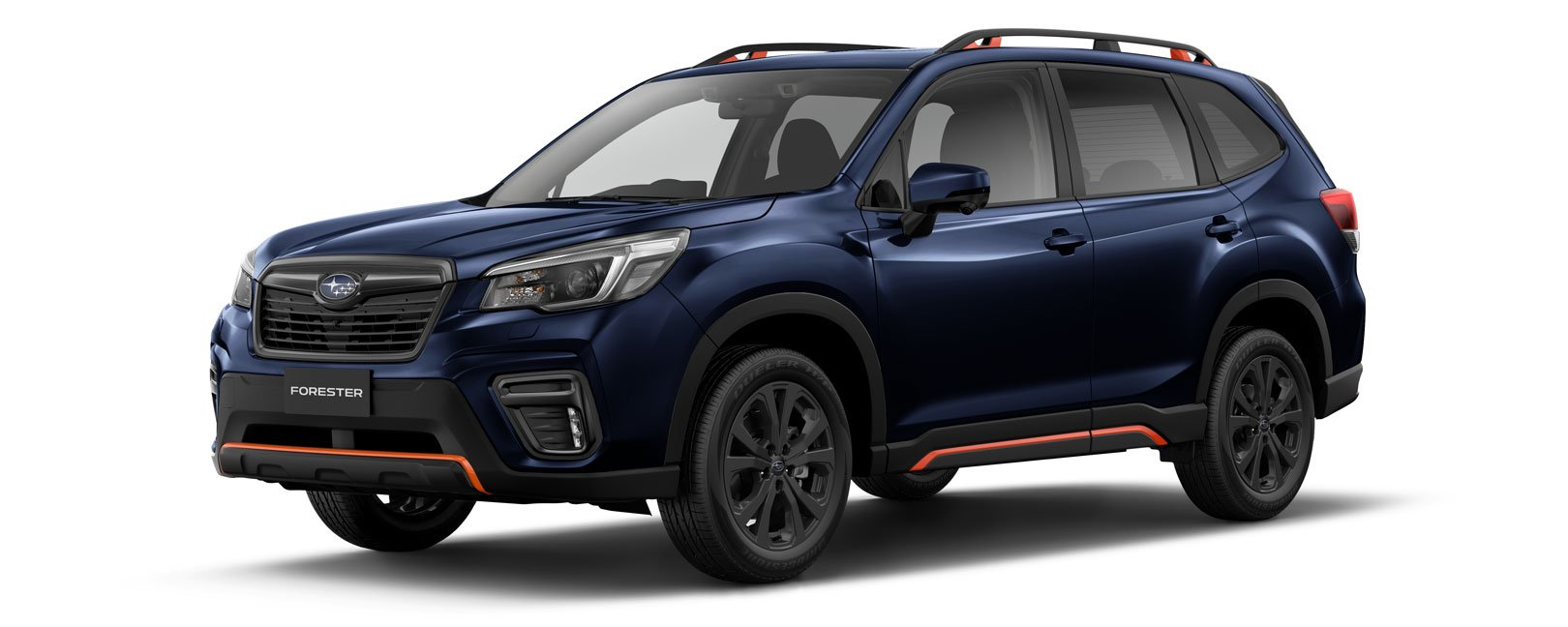 Forester X Sport in dark blue pearl