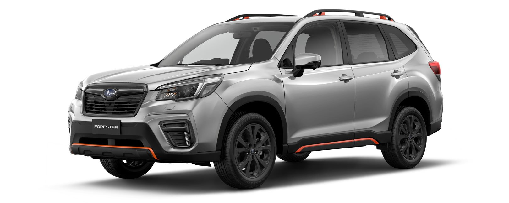 Forester X Sport in ice silver metallic