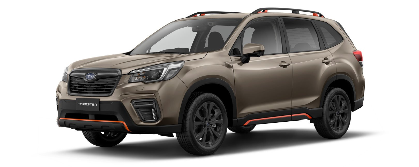 Forester X Sport in sepia bronze