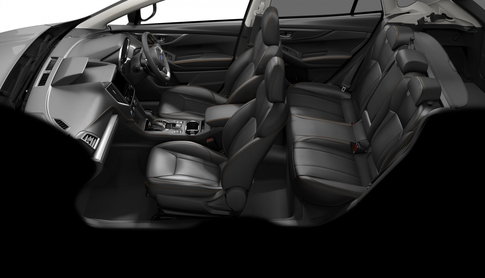 Subaru XV Premium interior side view