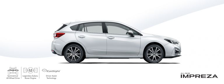 All new Subaru Impreza 2.0 Sport