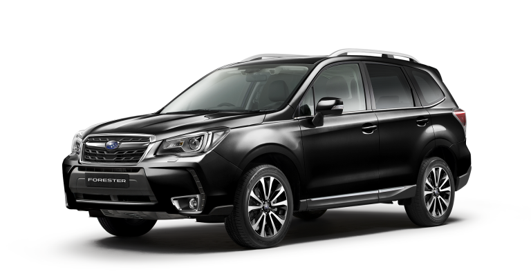 Forester 2.0XT Premium Crystal Black Silica