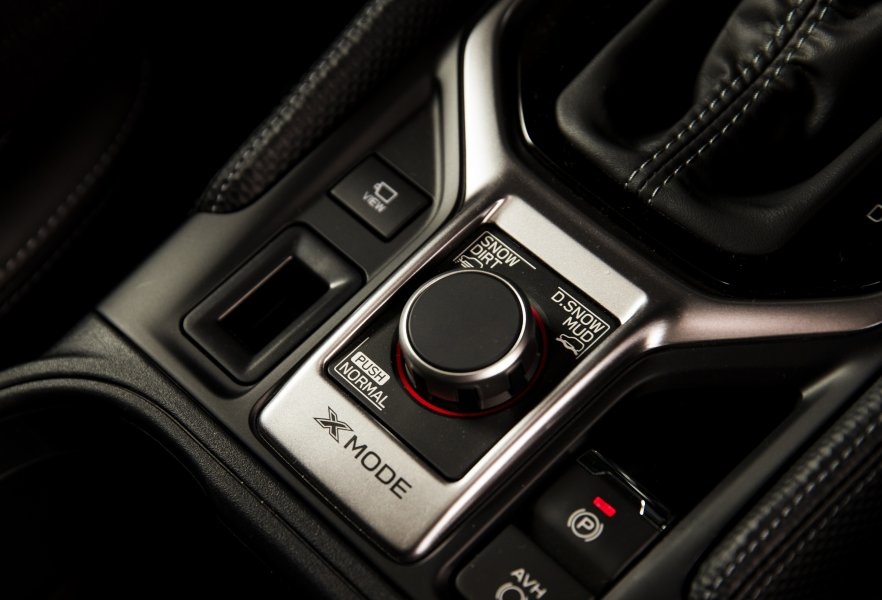 The Subaru Forester Premium has a new dual-mode selector for theX-Mode off-road setting.