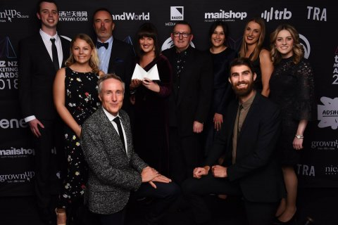 Subaru of New Zealand and Barnes, Catmur & Friends Dentsu winners at 2018 TVNZ NZ Marketing Awards