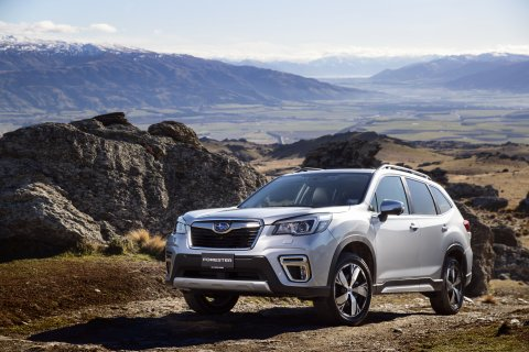 Subaru Forester Premium comes with a host of technology and the new Subaru Driver Monitoring System.