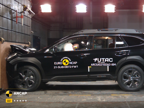 The Subaru Outback has been awarded the maximum 5-star safety rating from independent vehicle safety authority, ANCAP and achieved record scores.
