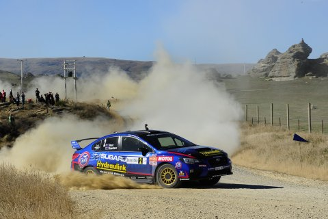 Ben Hunt WRX STi Otago Rally 2016. Photo credit Geoff Ridder