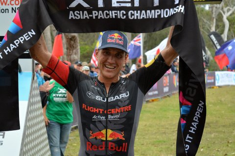 Currie wins Asia Pacific XTERRA 2016. Photo credit Terry Garman/XTERRA