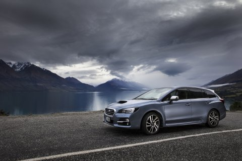 The all-new Subaru Levorg performance sports wagon
