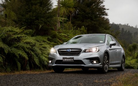 The 2018 Subaru Legacy 3.6RS.
