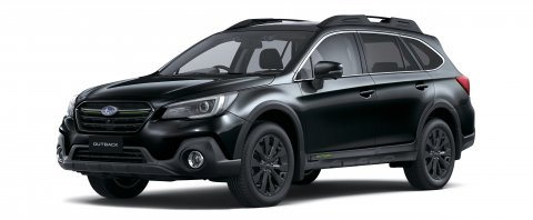 Subaru Outback X in black