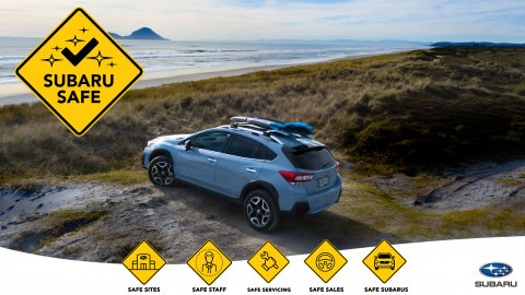 There are five key pillars to Subaru of New Zealand's SUBARU SAFE commitment: Safe Sites, Safe Staff, Safe Servicing, Safe Sales and Safe Subarus.