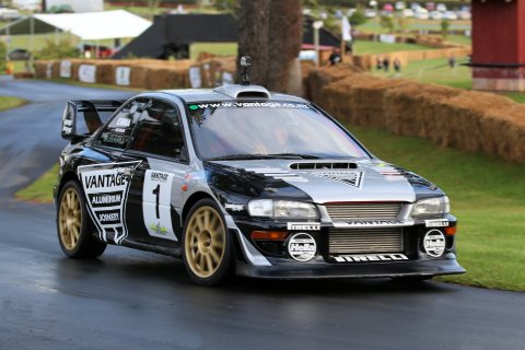Scottish rally star Alister McRae will be driving the Vantage Motorsport-owned, ex-Possum Bourne Subaru at Leadfoot Festival. Photo credit Neville Bailey
