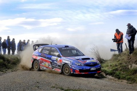 Lance Williams Otago Rally 2015. Photo credit Geoff Ridder