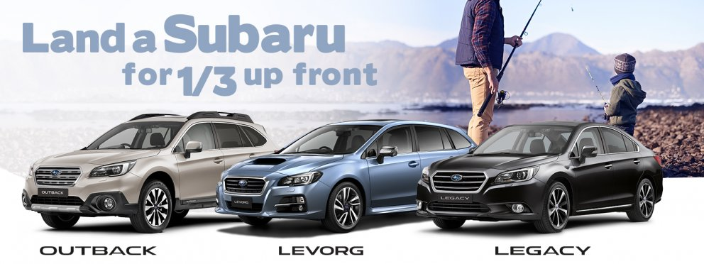 Subaru thirds offer