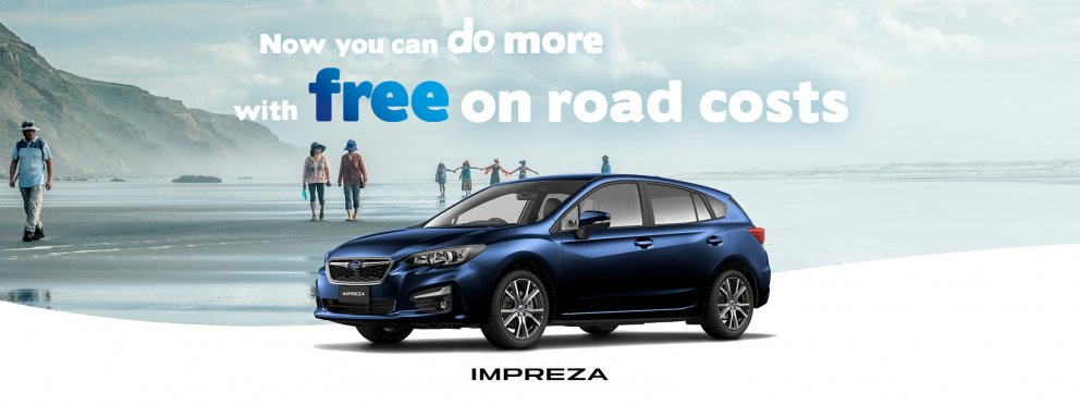 Subaru Impreza with free on road costs*