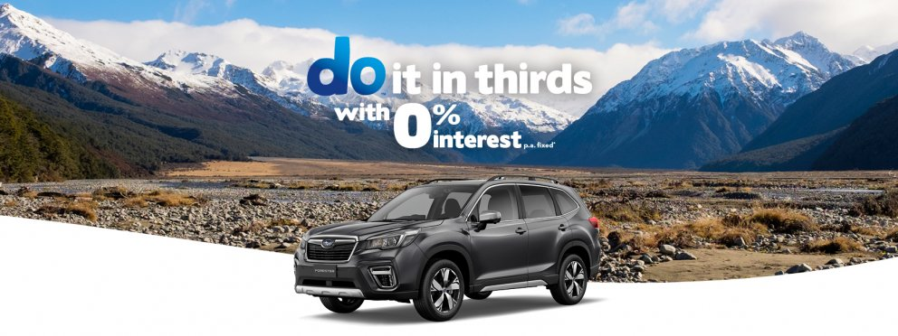 Subaru Forester_do it in thirds