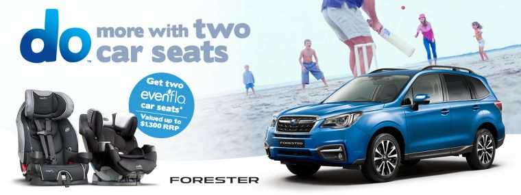 Forester Car seat offer
