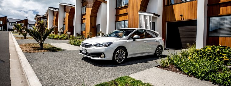 "Subaru's compact Impreza has undergone a cosmetic overhaul, with the 2020 model sporting a redesigned front bumper and grille, plus smart new-design 17"" alloy wheels."