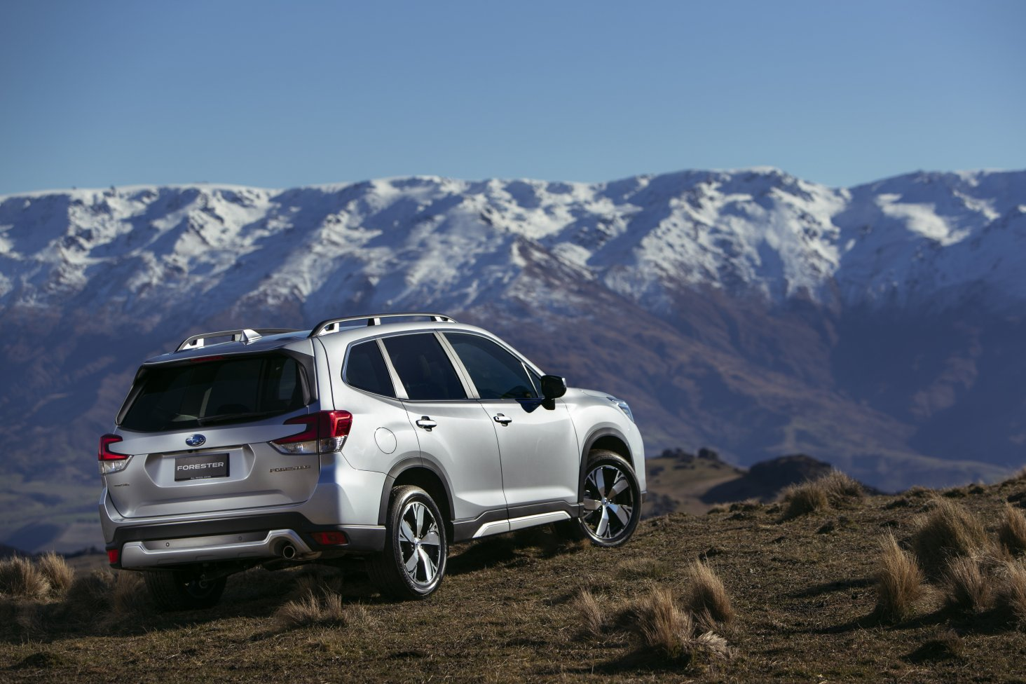 The Subaru Forester SUV is more than capable off-road with 220mm of ground clearance.