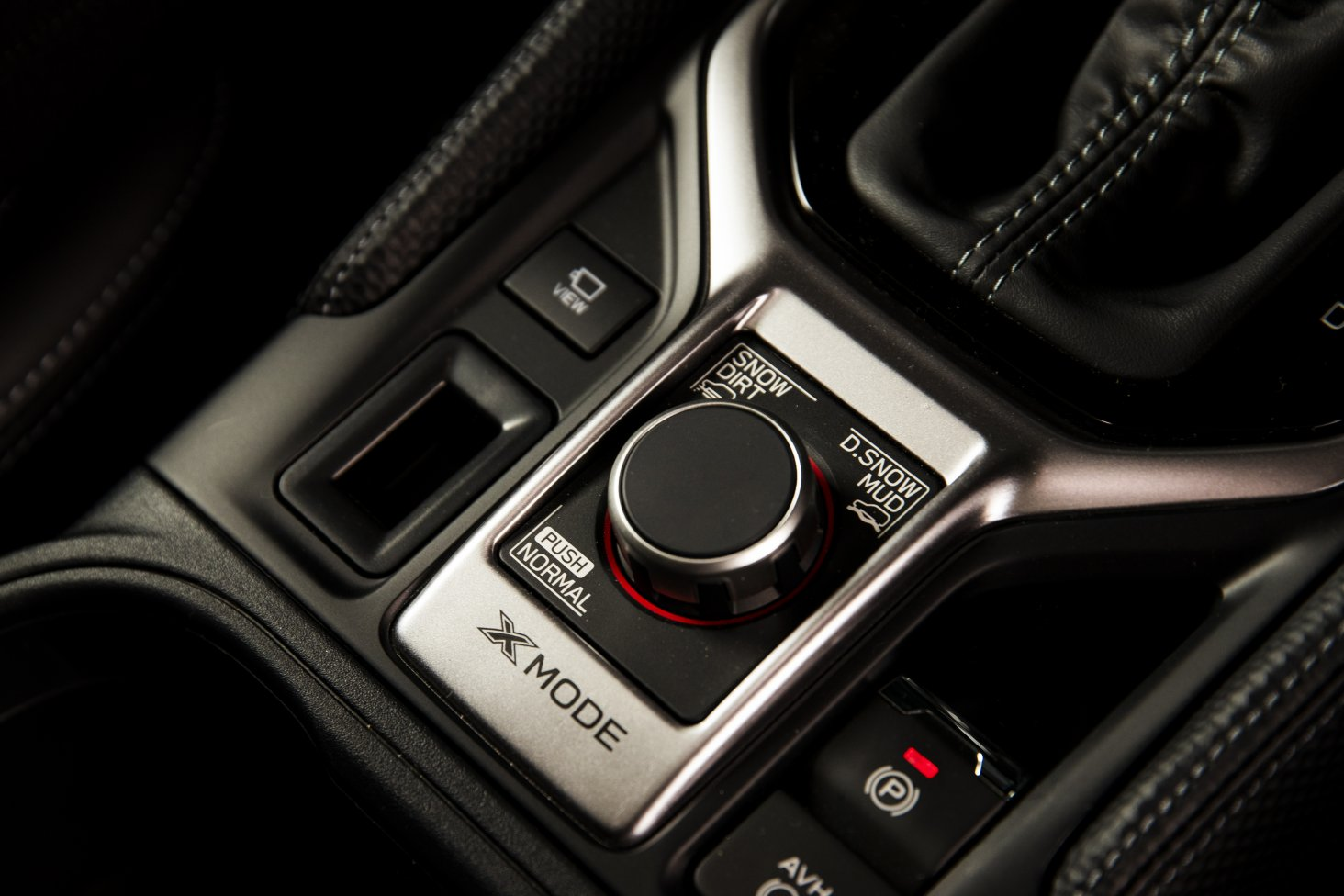 The Subaru Forester Premium has a new dual-mode selector for the X-Mode off-road setting.
