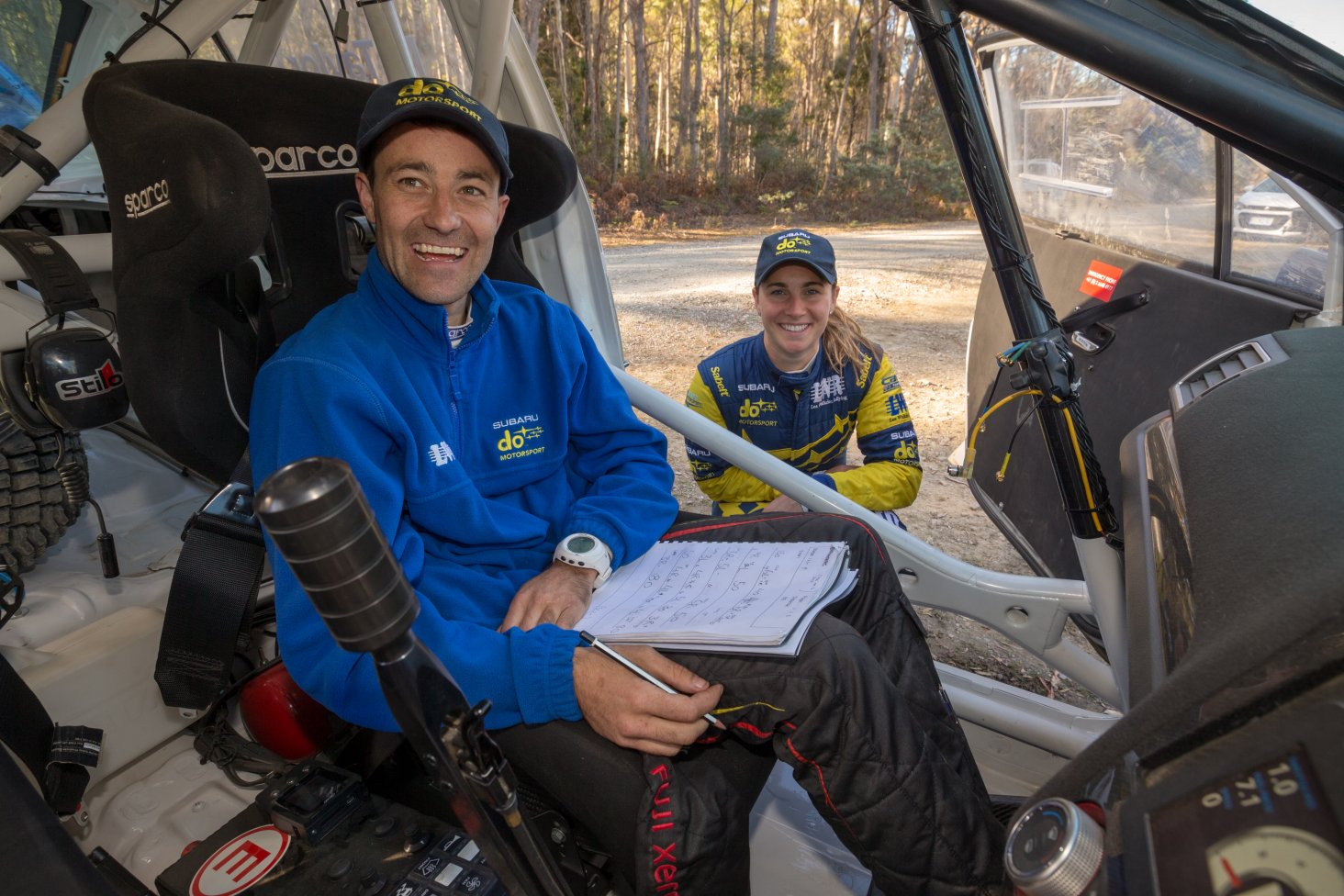 Malcolm Read began rallying in 2004 and now has more than 100 events globally to his credit.