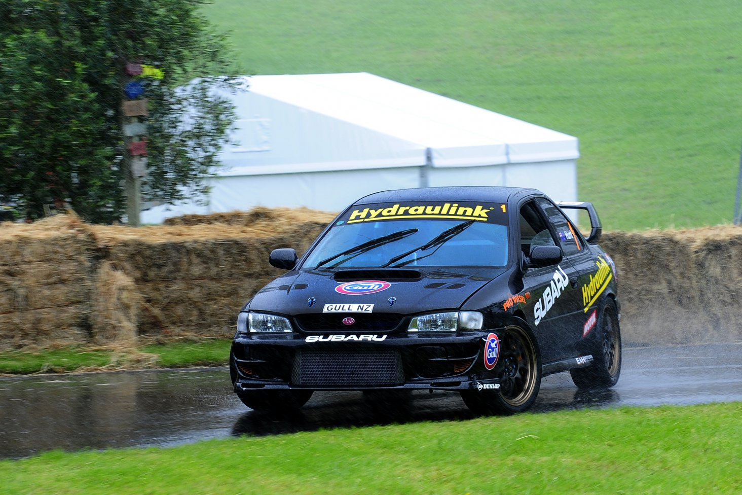 Subaru Brand Ambassador Ben Hunt will be driving his friend's 1999 Subaru STi Coupe again at the 2017 Leadfoot Festival. PHOTO: GEOFF RIDDER