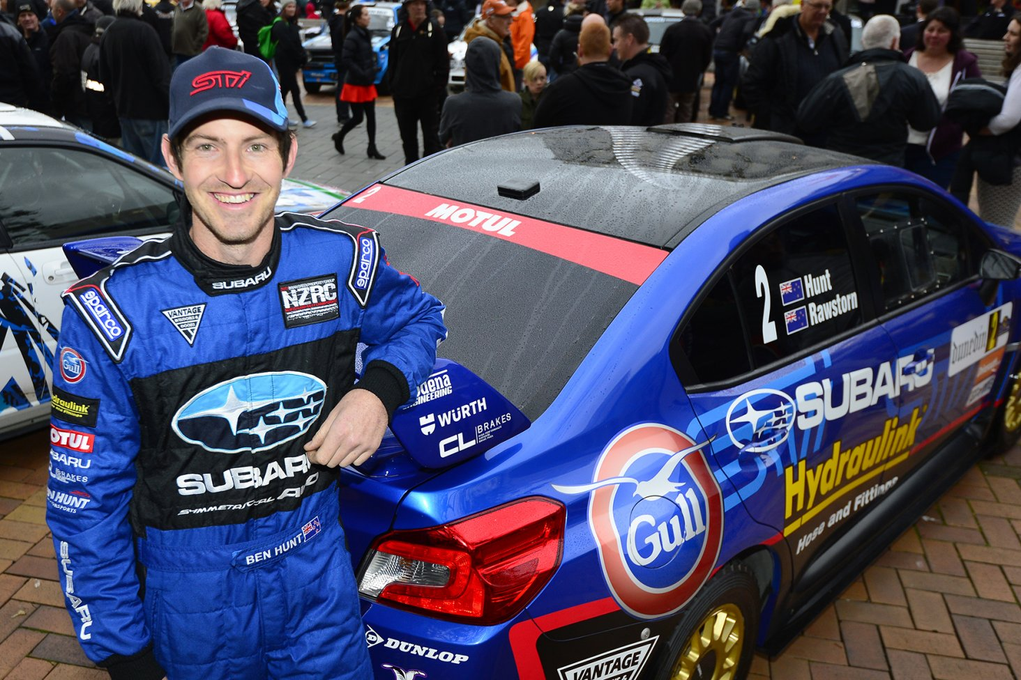 Subaru driver Ben Hunt. PHOTO: GEOFF RIDDER
