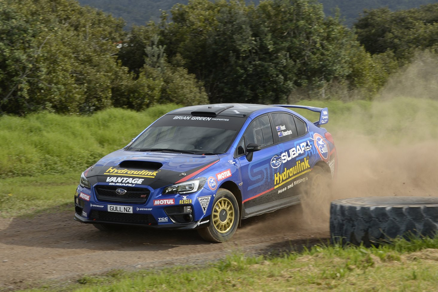 Ben Hunt and co-driver Tony Rawstorn will have a new engine in the Subaru WRX STi for this Sunday's Lone Star Canterbury Rally. PHOTO: GEOFF RIDDER.