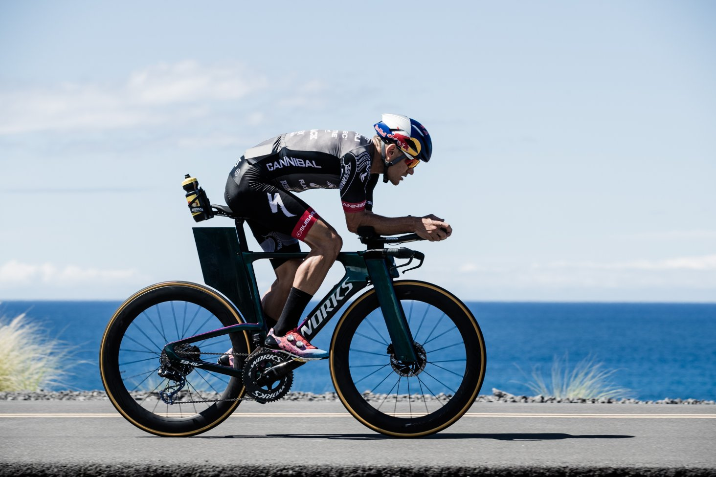 The hot, humid and windy 180km bike course at the World Ironman Championships in Hawaii is described as brutal. PHOTO: KORUPT VISION.