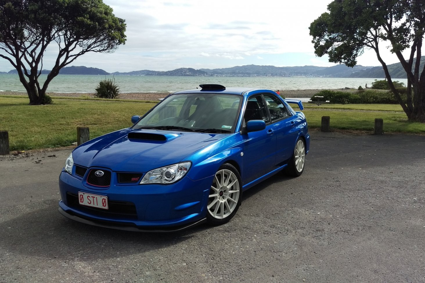 Grahame Hill's 2006 Subaru Impreza WRX STi Spec C Type RA-R is one of the 25 WRX competition winners.