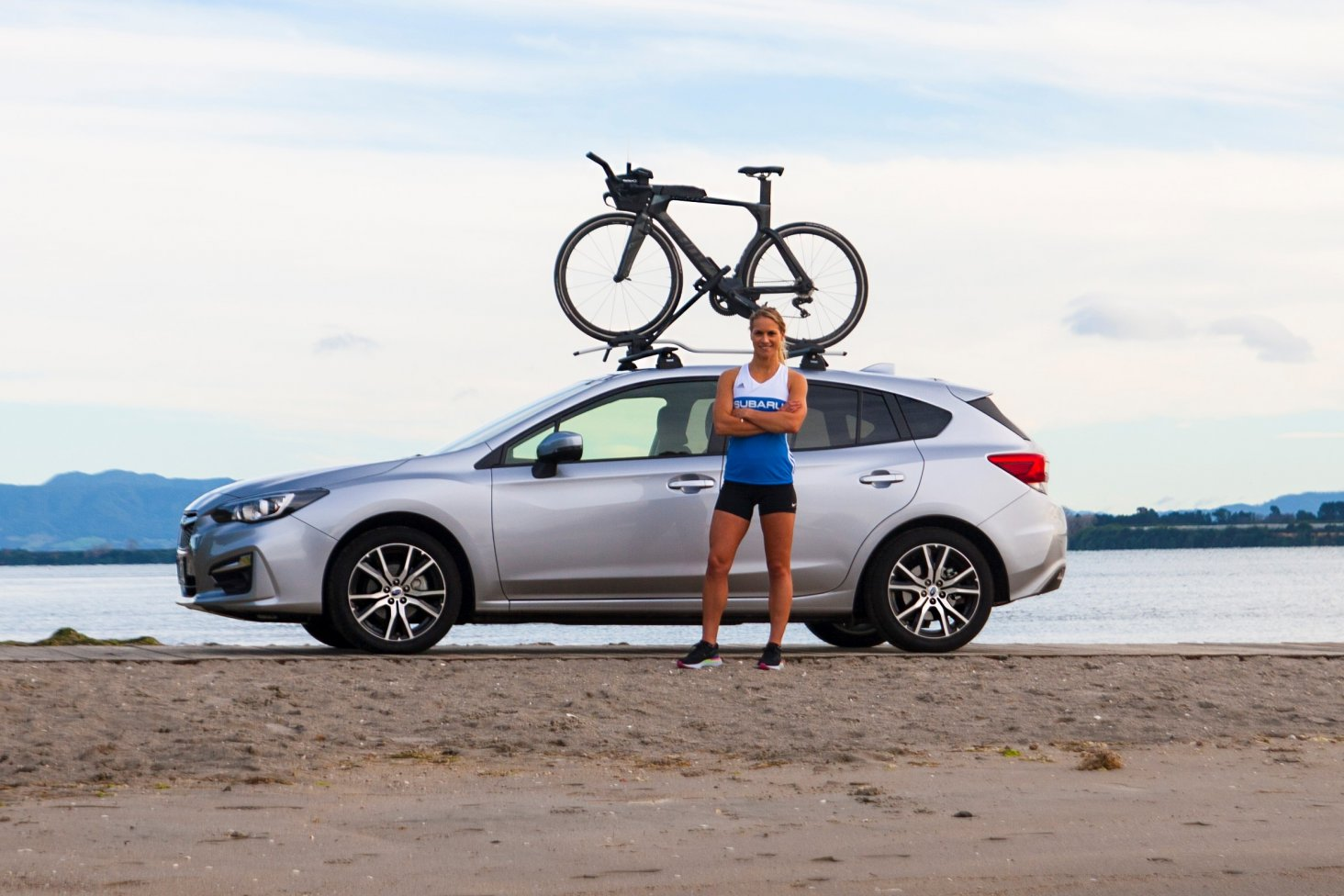 Subaru brand ambassador Hannah Wells trains 20-plus hours a week - travelling from her Tauranga hometown to race - and also fits in a four-days-a-week role as an engineering research fellow at Massey University. Photo Credit: Paul Brunskill