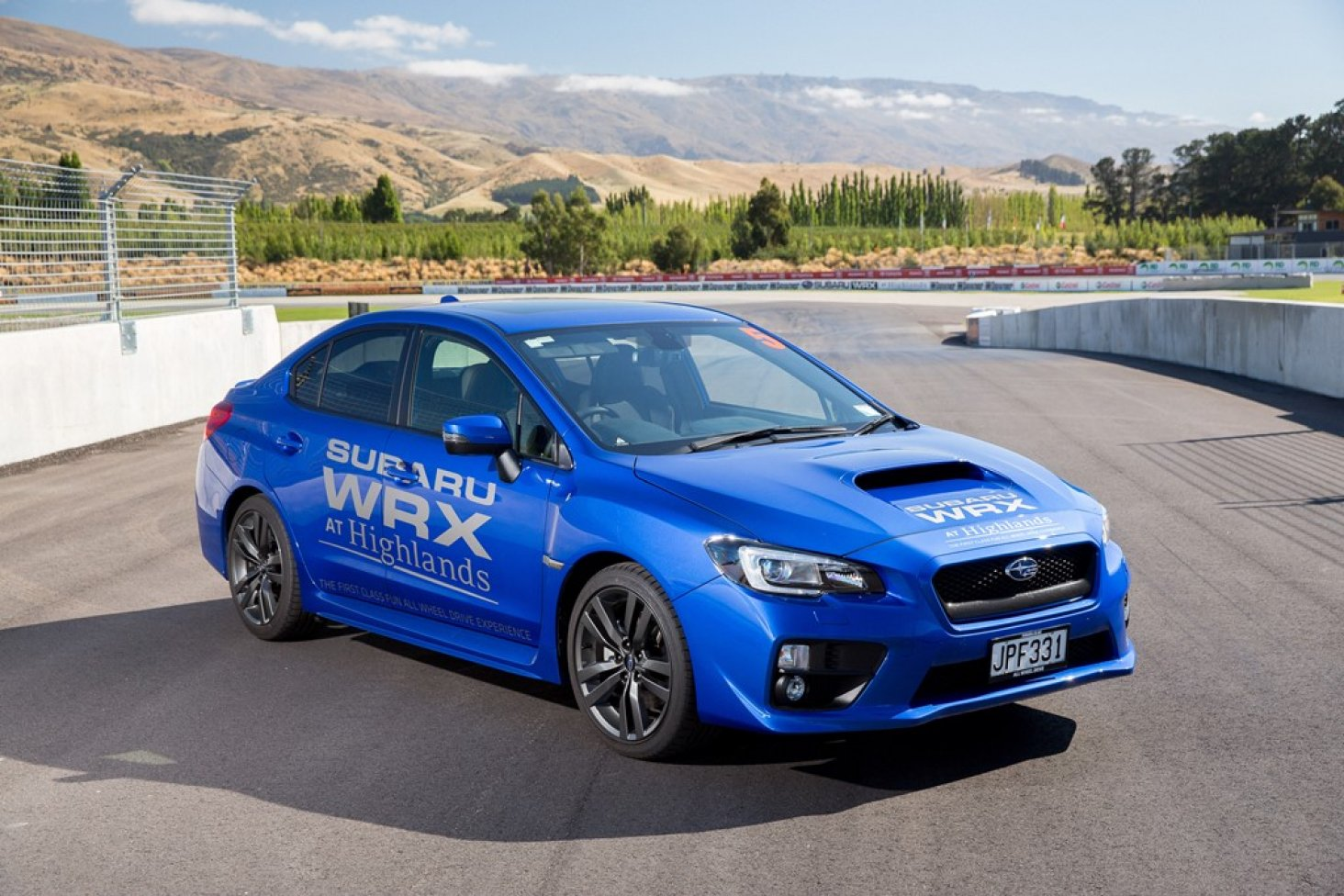 Highlands launches new Subaru WRX Experience