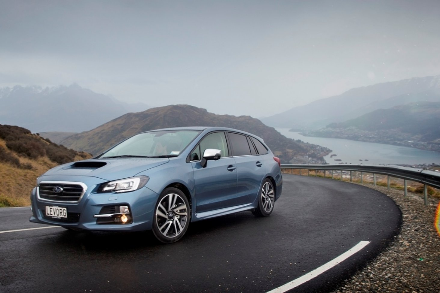 The Subaru Levorg is a real 'driver's car'.