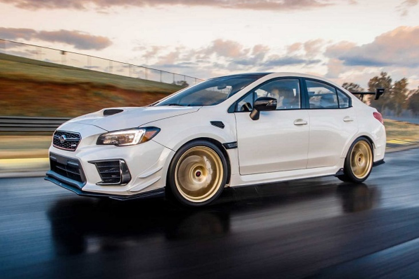 Subaru WRX STI S209 revealed at  at 2019 North American International Auto Show.