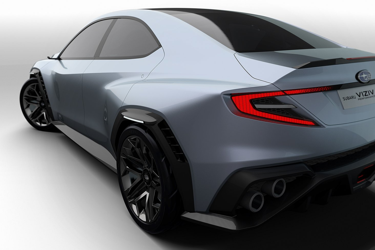 The Subaru VIZIV Performance Concept. Images free for editorial use.