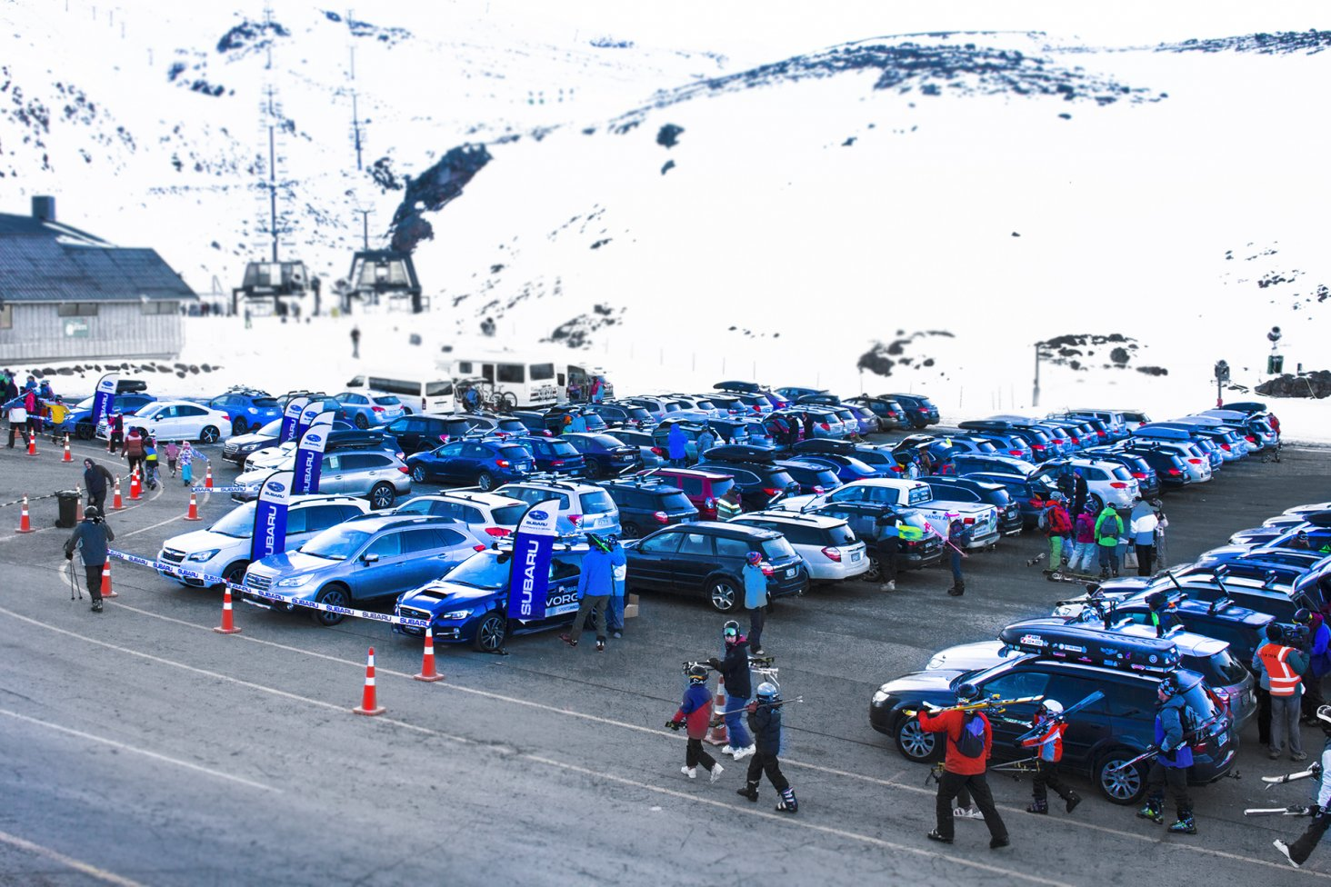 These images were taken at the 2016 Subaru Top Weekend at Turoa ski field.
