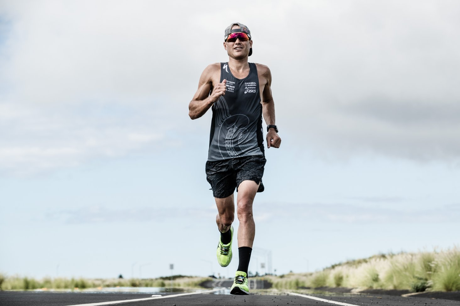Subaru brand ambassador Braden Currie is about to embark on a race against the world's best endurance athletes, at the World Ironman Championships in Hawaii. PHOTO: KORUPT VISION.