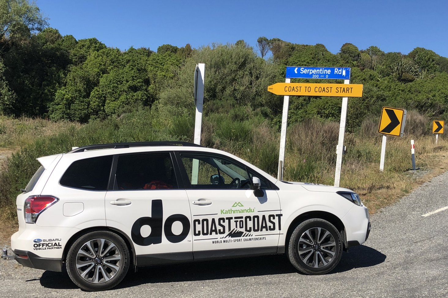 Subaru of New Zealand is the official vehicle supplier for the 2018 Kathmandu Coast to Coast.