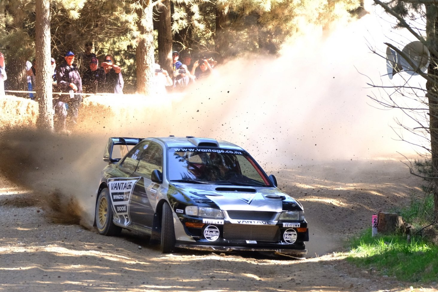 Mcrae Becomes First International Driver To Win Ashley Forest