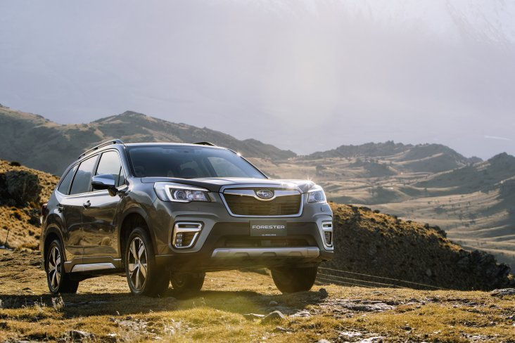 The Subaru Forester SUV almost doubled sales results in 2019 and will be available as an eBoxer Hybrid later in 2020.