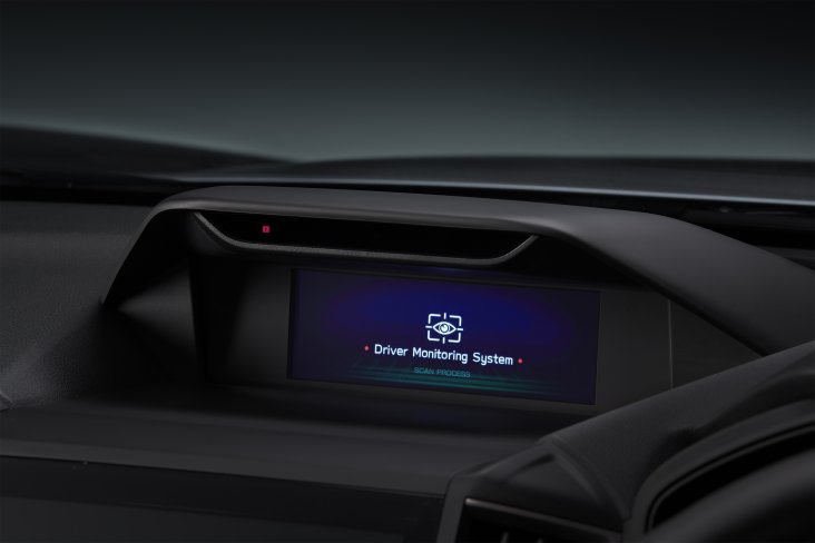 Subaru Driver Monitoring System recognises drivers and detects distractions.