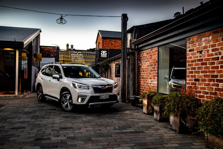 Subaru Forester e-Boxer Hybrid is the perfect match for all conditions.