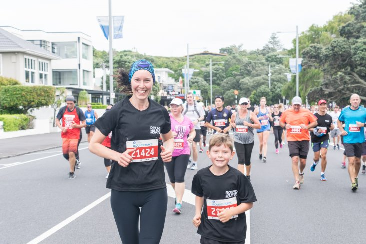 Ports of Auckland Round the Bays is a great family event.